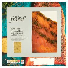 Tesco Finest Gravadlax Smoked Salmon 160G