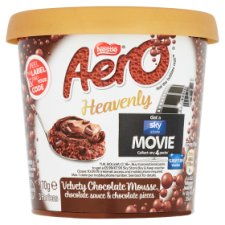 Aero Heavenly Triple Chocolate Mousse 170G