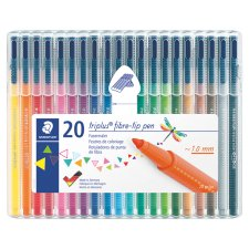 Staedtler Triplus Colour Fibre Pack Of 20