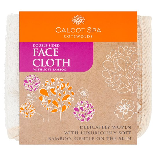 Calcot Manor Bamboo Double Sided Facecloth