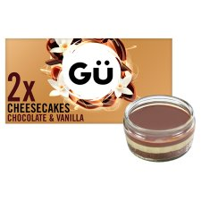 image 1 of Gu Chocolate And Vanilla Cheesecake 2X78g