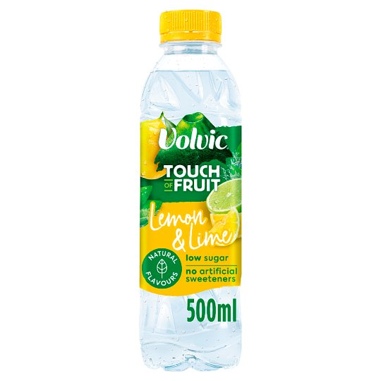 Volvic Touch Of Fruit Lemon/Lime 500Ml