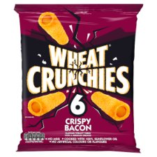 Wheat Crunchies Crispy Bacon Crisps 6X23g