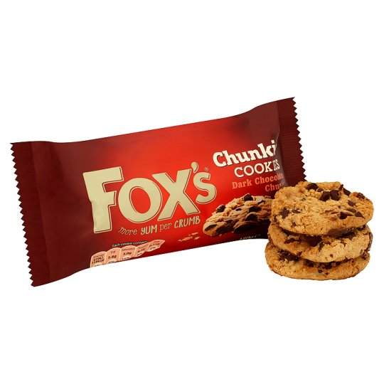Fox's Dark Chocolate Chunkie Cookies 180G