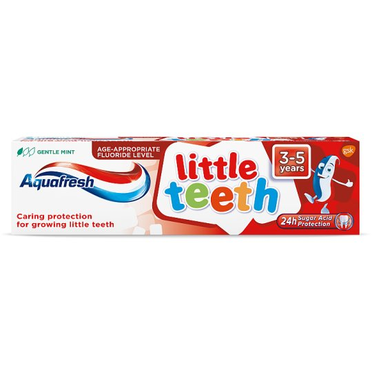 image 1 of Aquafresh Little Teeth 3-5 Years Toothpaste 75Ml