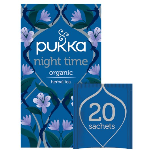 Pukka Organic Night Time 20 Tea Bags 20G