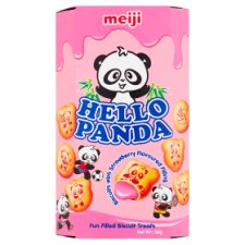 Hello Panda Strawberry Biscuits 50G