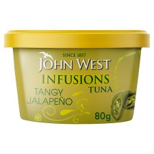 John West Tuna Infusions Jalapeno 80G