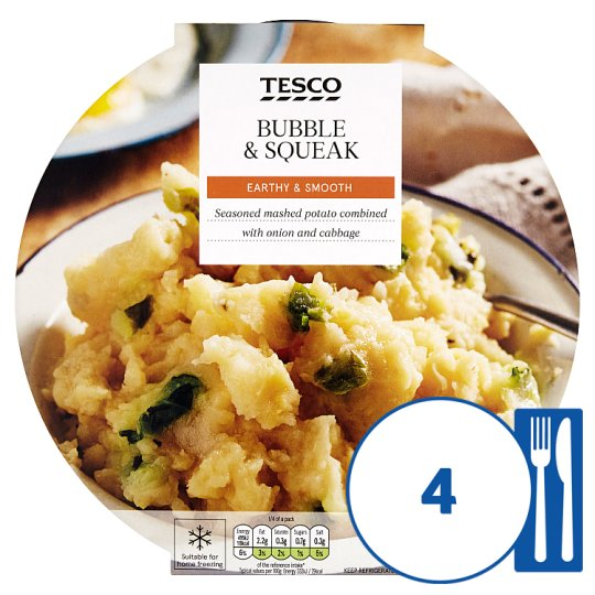 Tesco Bubble And Squeak 650G