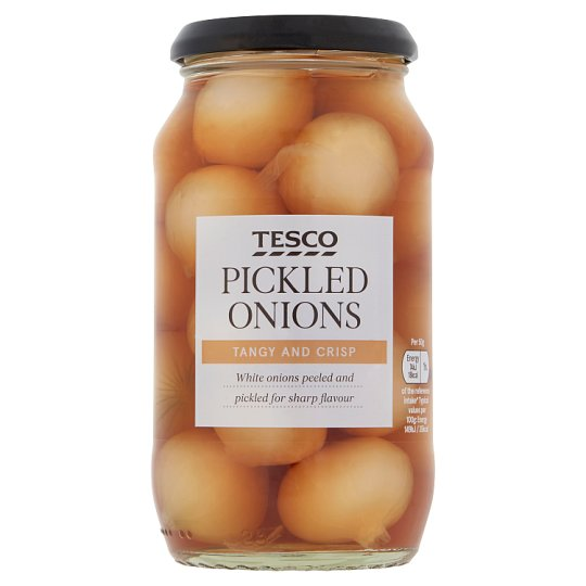 Tesco Traditional Pickled Onions 440G