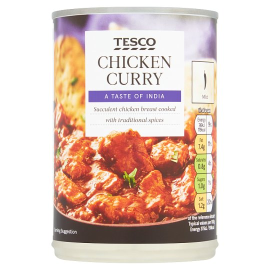 Tesco Chicken Curry 400G