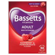 Bassetts Adult Multi Vitamin Raspberry And Pomegranate