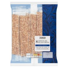 Tesco Chocolate Filled Crepes 8 Pack