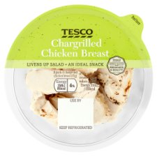 Tesco Chargrilled Chicken Slices 65G