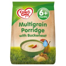 Cow & Gate Multigrain Porridge With Buckwheat 210G