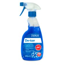 Tesco Trigger De-Icer 500Ml