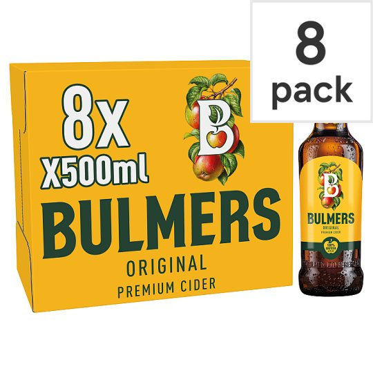 image 1 of Bulmers Original Apple Cider 8X500ml Bottle