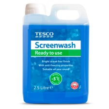 Tesco Screenwash Ready To Use 2.5L