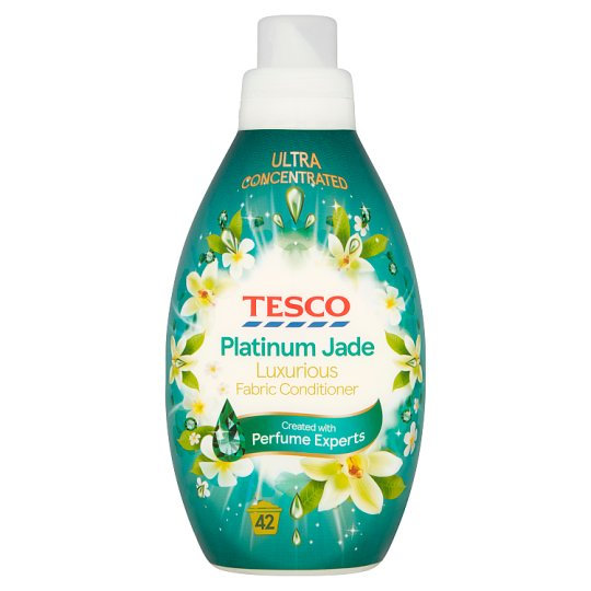 Tesco Ambience Jade Fabric Conditioner 42 Washes 840Ml