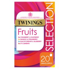 Twinings Selection Fruit 20 Tea Bags