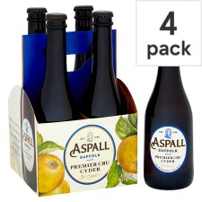 Aspall Premier Cru Apple Cider 4X330ml Bottle