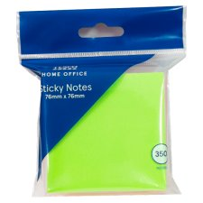 Tesco Sticky Note Cube 76 X 76Mm 350Sht