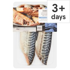Tesco Scottish Mackerel Fillets 180G