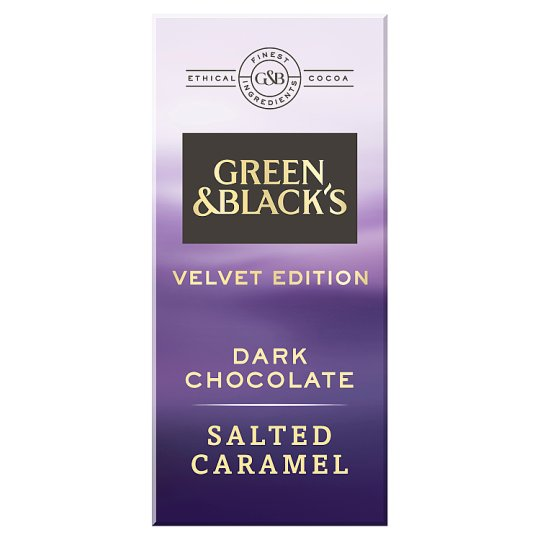 Green And Blacks Dark Salted Caramel Chocolate 90G