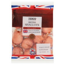 image 1 of Tesco Shallots 400G