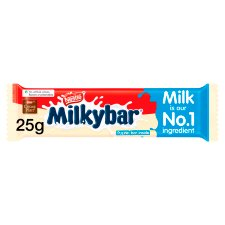Milkybar Medium White Chocolate Bar 25G