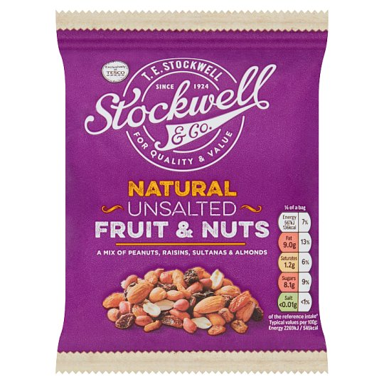Stockwell And Co Fruit And Nut Mix 200G