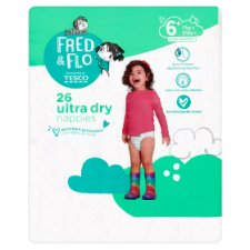 Fred And Flo Ultradry Size 6+ Economy Pack 26