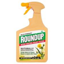 Round Up 100% Natural 1L Non Glypho