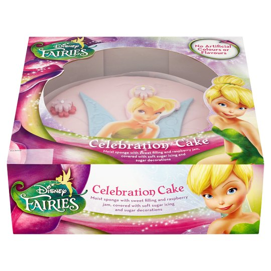 Cake With Photo Tesco : Disney Fairies Celebration Cake - Groceries - Tesco Groceries
