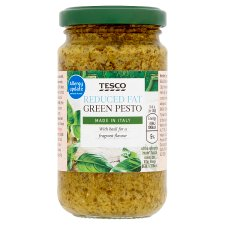 Tesco Reduced Fat Green Pesto 190G