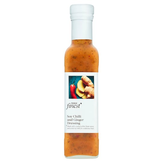 Tesco Finest Soy Chilli And Ginger Dressing 220Ml