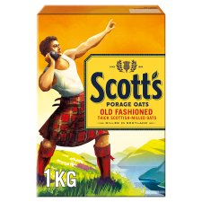 Scotts Old Fashioned Porage Oats Porridge 1Kg