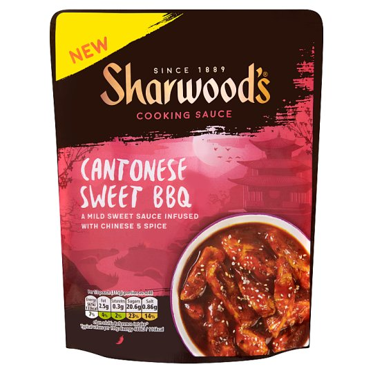 Sharwoods Sweet Cantonese Bbq Sauce 230G