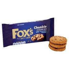 image 2 of Fox's Milk Chocolate Chunk Cookies 180G