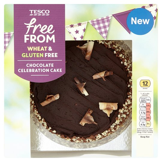 Tesco Free From Chocolate Party Cake
