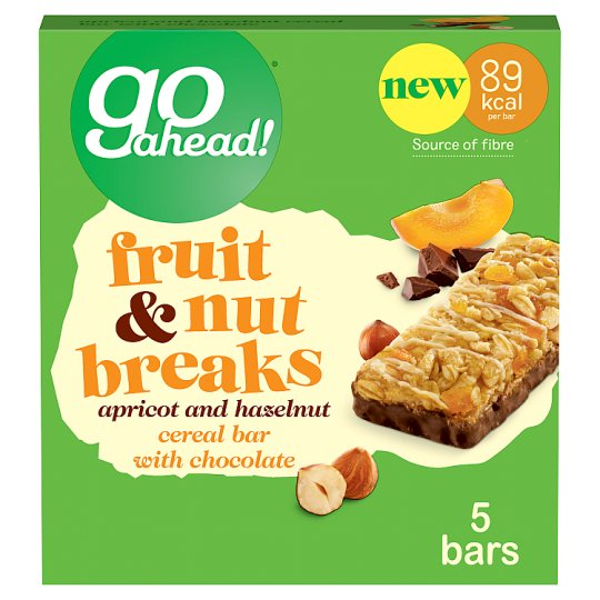 Go Ahead Fruit And Nut Breaks Apricot 5X20g