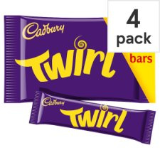Cadbury Twirl Chocolate Multipack 4 X34g