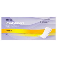 Tesco Normal Liners 20 Pack
