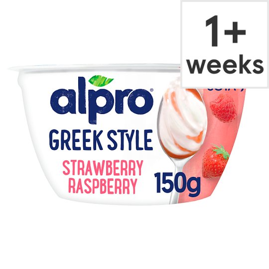 Alpro Go-On Strawberry And Raspberry 150G