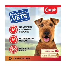 image 2 of Chappie Dog Food Tins Favourites 6x412g