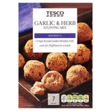 Tesco Garlic And Herb Stuffing 125G