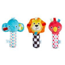 Carousel Soft Squeakers Assorted