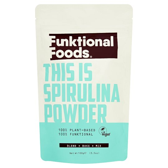 Funktional Foods Spirulina Powder 100G