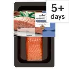 Tesco Boneless Salmon Fillet 130G