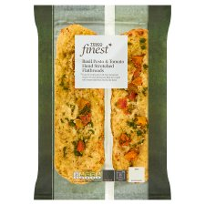 Tesco Finest Basil Pesto And Tomato Flatbread 245G